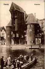 DANZIG Gdansk Polen Reprint-Ansicht Partie am Krahnentor Postcard Poland