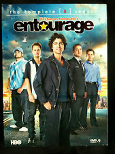 ENTOURAGE ~ COMPLETE SEASON 8  ~ 2 DVD'S ~ AS NEW ~ OVER 10 HOURS ~ **FREE POST