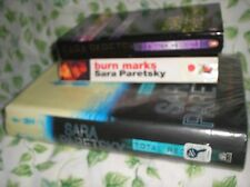 3 SARA PARETSKY NOVELS - ENGLISH