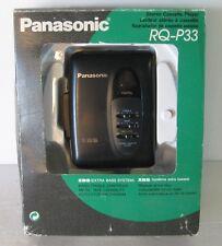 panasonic rq-p33 walkman non funzionante, con scatola