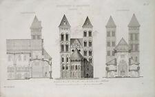 Pfarrkirche Kirche Andernach Maria Himmelfahrt Basilika Architektur Stil Turm