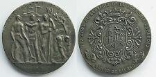 PRECIOSA MEDALLA DE 1964 .110 ANIVERSARIO. BANCO DE BILBAO . 211,9 gramos/78 mm