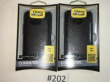 Otter Box Commuter for HTC One  Color Black (Lot 2)  #202