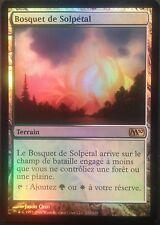 Bosquet de Solpétal PREMIUM / FOIL VF - French Sunpetal Grove  - Magic mtg