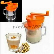 1PCS Manual Fruit soybean milk machine maker Juicer Squeezer Home