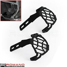 Pair Motorcycle Silver Foglight Guards Cover For BMW F800GS & Adventure 2012-on