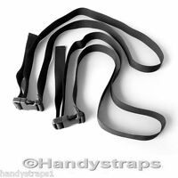 2 x 1.5m 25mm Side release ELASTIC Tie Down Luggage Suitcase Strap