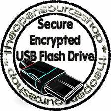 Secure Encrypted 64GB USB 3.0 Pen Drive Protect Data &Files