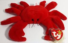 "TY Beanie Babies ""DIGGER"" the Crab - MWMTs! RETIRED LONG TIME AGO! PERFECT GIFT!"