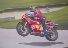 Barry Sheene Suzuki Racing Japanese Motorbike Motorcycle Birthday Card
