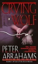 Crying Wolf, Peter Abrahams, 0345435036, Book, Good