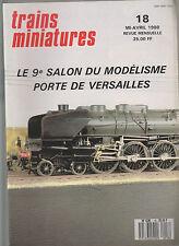 TRAINS MINIATURE N°18 DETAILLER LA CC 40101 / CONTENEUR / TGV ATLANTIQUE / LED