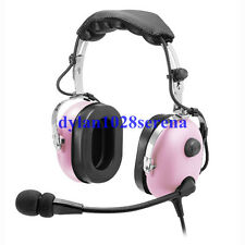 Pink Headset PNR (Passive Noise Reduction) Aviation Headset IN-1000