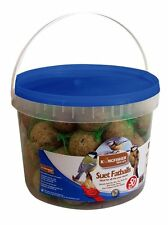 Kingfisher Wild Bird Feed Tub of 50 Fat Balls in Resealable Pack