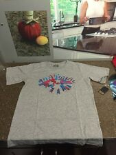 CONVERSE GRAY SHIRT BURSTING STAR LOGO SIZE YOUTH XL 13-15 NWT!