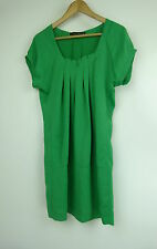 ZARA WOMAN Tunic dress Sz S, 8, 10 Emerald green