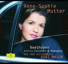 Plays Beethoven Violin Concerto - Mutter,Anne-Sophie (2002, CD NEUF)
