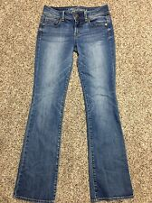 AE AMERICAN EAGLE OUTFITTERS KICK BOOT WOMENS DESIGNER JEANS SIZE 4