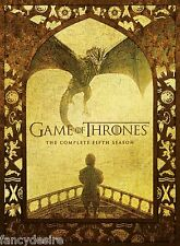 GAME OF THRONES SEASON 5 COMPLETE DVD BOX SET BRAND NEW. SALE SALE SALE!!!