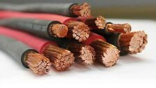 4 AWG Welding Cable - 4 gauge Black or Red flexible welding cable - 250 ft.