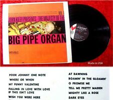 LP John Kiley presents The Majesty of Big Pipe Organ