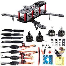 4-Axis 250 Carbon Fiber FPV Mini Quadcopter Kit Combo CC3D Motor 12A ESC RC001