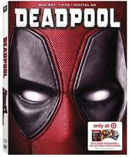 DEADPOOL (Blu-Ray / DVD / Digital ) Target Exclusive NEW