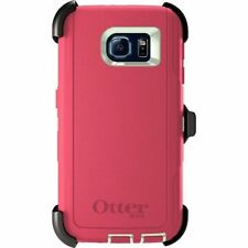 OtterBox Defender Series for Samsung Galaxy S6 w/ Belt Clip & Holster Pink New