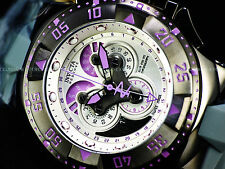 New Invicta $1995 Orchid Excursion SWISS MADE Master Chrono 5040F Gunmetal Watch