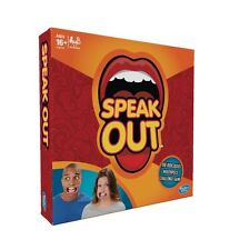 SPEAK OUT-HASBRO BOARD GAME-NEW/SEALED-UK AUTHENTIC STOCK-MOUTH/FAMILY