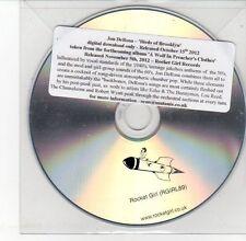 (DV584) Jon DeRosa, Birds of Brooklyn - 2012 DJ CD