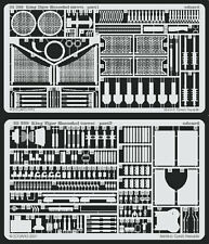 Eduard 1/35 pe photo gravé detail set for tamiya king tiger henschel 35164