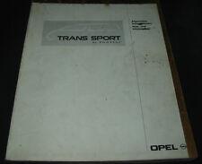 Werkstatthandbuch Pontiac Trans Sport Klimaanlage Klima Heizung Stand 01/1993!
