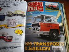 CHARGE UTILE n° 104 magazine camion et utilitaires très bon état, comme neuf