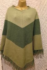 ��Womens Monsoon Poncho Cape Wrap JumperTop Christmas WinterThick Knits Everyday