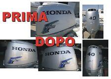 Adesivi motore marino fuoribordo Honda 40 hp four stroke gommone barca stickers