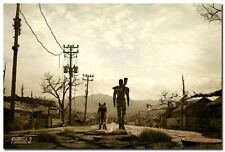 Fallout 3 Man And His Dog Silk Poster Art Wall Decor 60*90cm