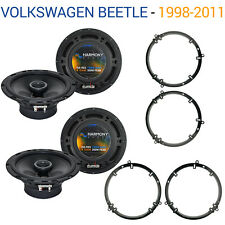 Volkswagen Beetle 1998-2011 Factory Speaker Upgrade Harmony (2) R65 Package New