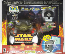 Star Wars TV Game Super Value Power Pack Exclusive RARE Yoda NEW Sealed