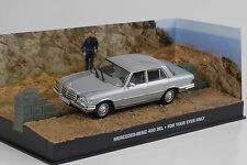 1972 Mercedes-Benz 450 sel w116 silver argent James Bond Movie 1:43 IXO