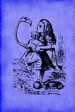 Alice in Wonderland Notebook Journals - Blue Collection: Alice in Wonderland...