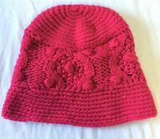 Nils Knit Snow Ski Fashion Beanie Hat Hot Pink NEW