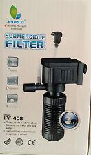 Mini filtro interno sommergibile per da acquario 3in1 fino a 40cm. 2W IPF 408