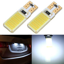 2X T10 W5W COB LED CANBUS ERROR FREE CAR WEDGE SIDE LIGHT BULB WHITE DC 12V