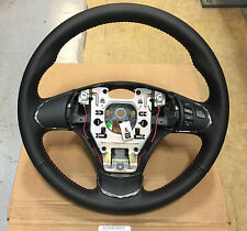 2005-2013 C6 Corvette Manual Leather Steering Wheel Red Stitching GM UPGRADE