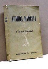ARMIDA BARELLI di I. Corsaro [Libro, 1954]