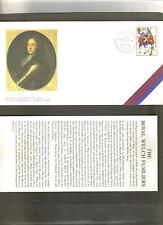 Gb 1989 wales welsh militaire regiments 300th anniv. armée shs 4 couvre timbres