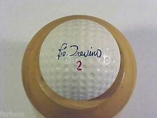 1965 Faultless LEE TREVINO SIGNATURE Balata GOLF BALL Velocity in Red