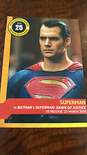 2016 SDCC COMIC CON EXCLUSIVE IMDB PROMO CARD SUPERMAN DAWN OF HENRY CAVILL # 25