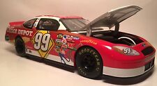 Nascar 99 Carl Edwards ford diecast metal race car scale 1/24 17258 Team Caliber